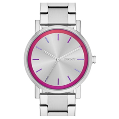 Iridescent Accent Bracelet Watch