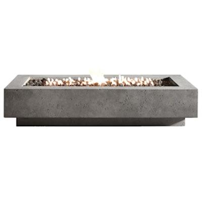 Ixtapa Natural Gas Rectangle Fire Table