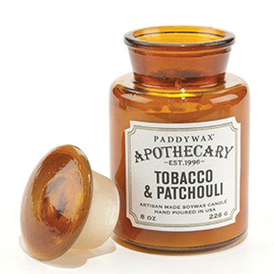 Tobacco & Patchouli Apothecary Candle