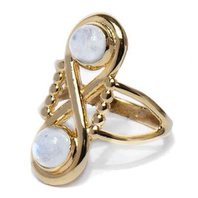 Infinite Ring in Gold