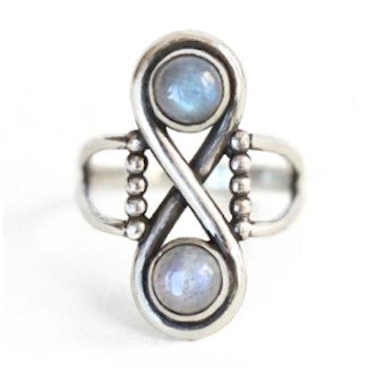 Infinite Ring in Silver