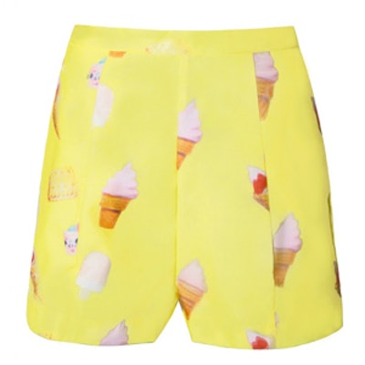 Popsicle High Waist Shorts