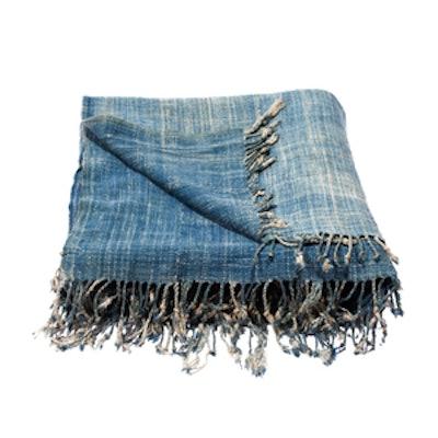 West African Vintage Indigo Textile