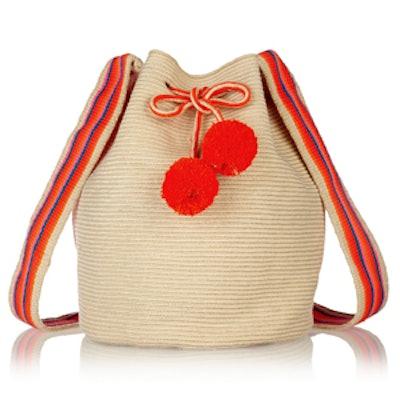 Lilia Crocheted Cotton Shoulder Bag