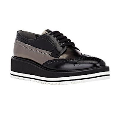 Wingtip Brogue Platform Sneakers