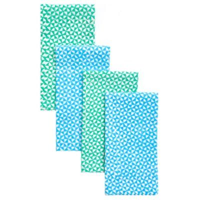 Pinwheel Block Printed Napkin Set