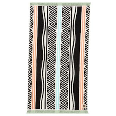Tropicana Cotton Terry Beach Towel