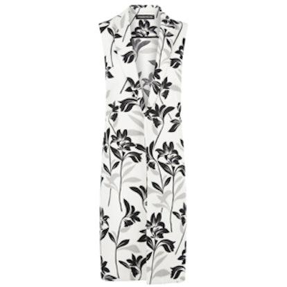 Floral Longline Waistcoat