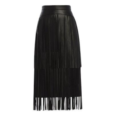 Rashell Fringe Detail Pencil Skirt