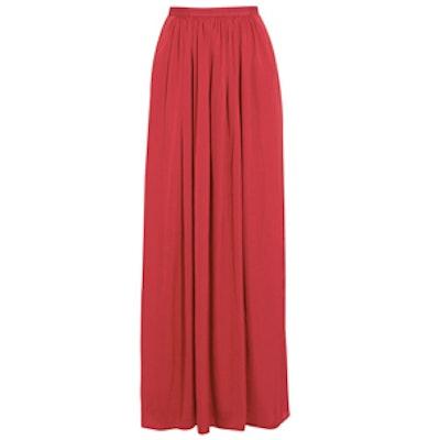 Pandora Satin Maxi Skirt