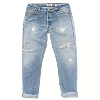 Relaxed Straight Jean