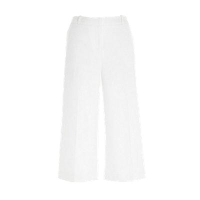White Smart Culottes