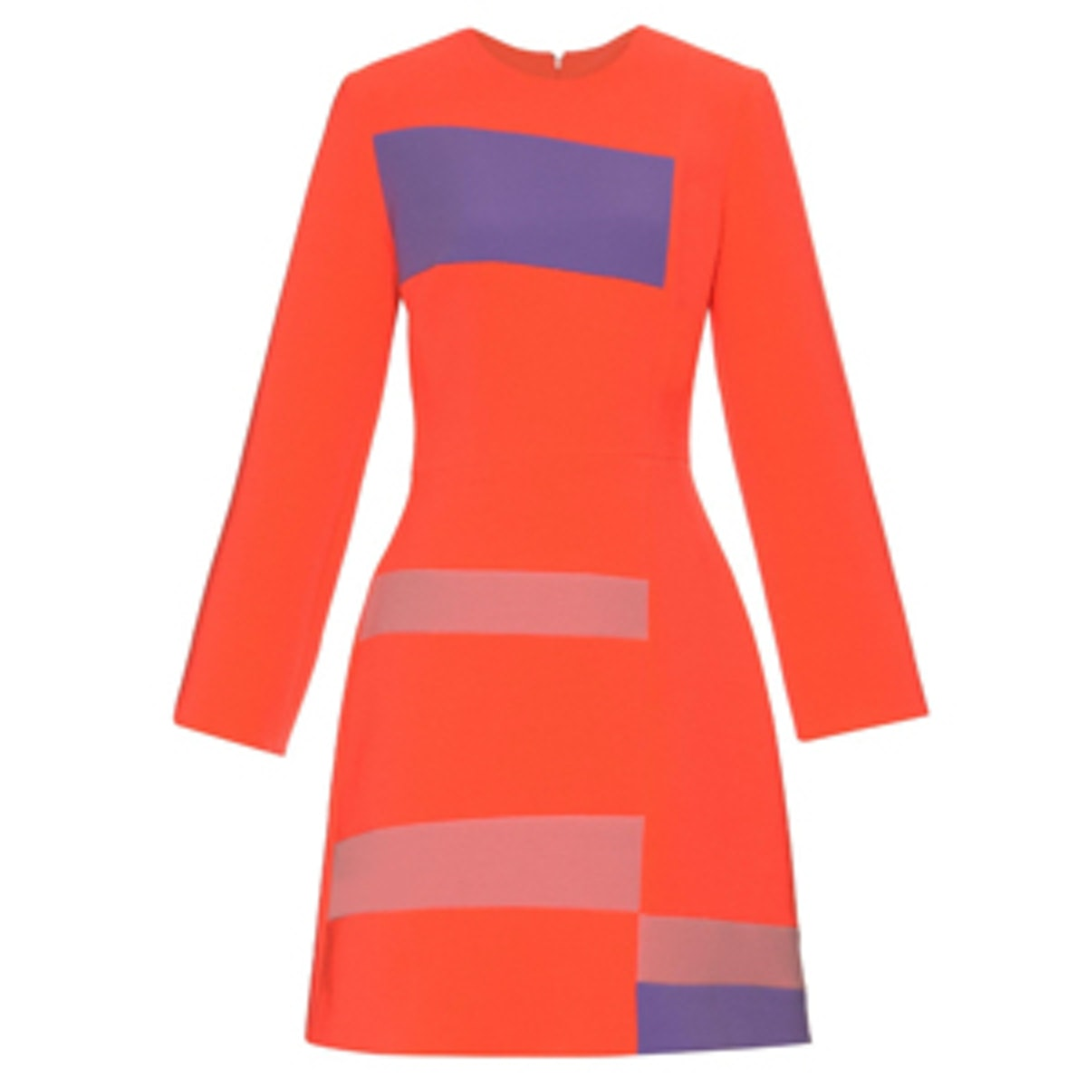 Albin Long-Sleeved Cady Dress