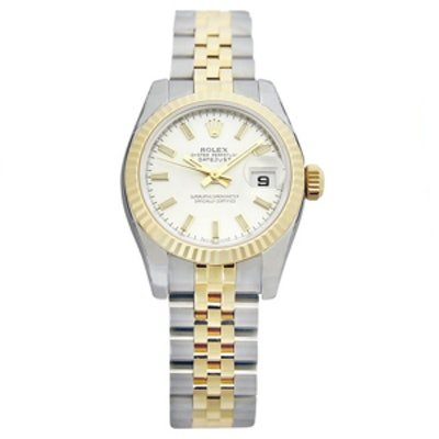 Jubilee Bracelet Two Tone Ladies Watch