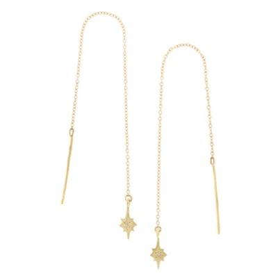 Valor 10K Gold Diamond Earrings