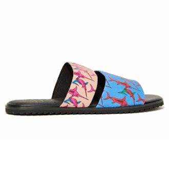Clinton Leather Slide Sandal