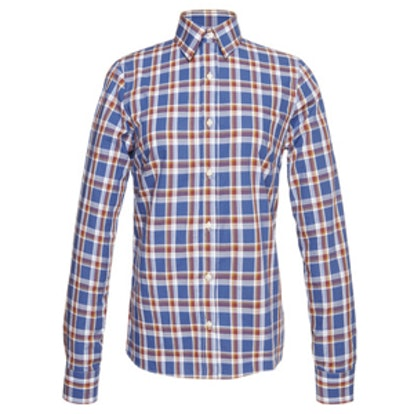 Cicala Plaid Slim Fit Shirt