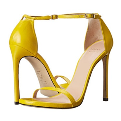 Nudist Sandals Yellow Napa