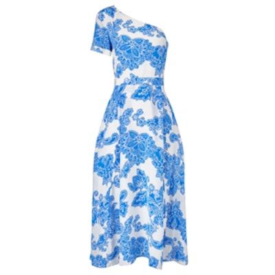 Blue Silk New Amy Dress
