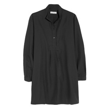 Cotton and Cashmere-Blend Twill Nightshirt