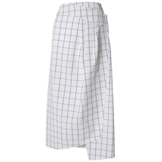 Mado Seersucker Wrap Skirt
