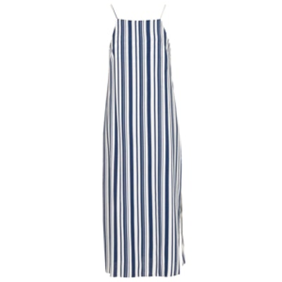 Deck Chair Striped Midi Dress
