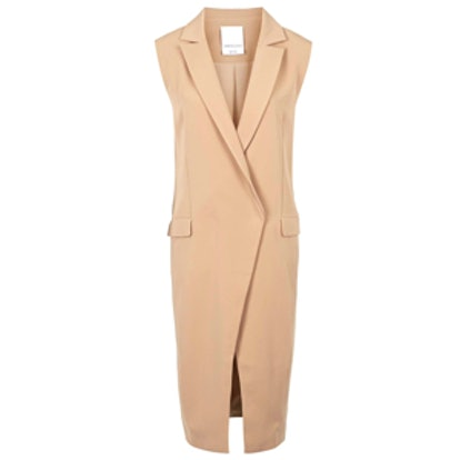 Sleeveless Tailored Jacket By C/Meo Collective