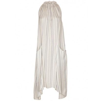 Chain-Stripe Dress