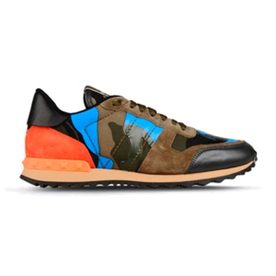 Garavani Rockrunner Camouflage Sneaker