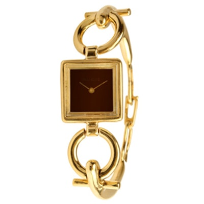 Vintage Yellow Gold Stirrup Watch Circa 1970