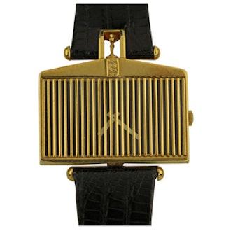 Vintage Yellow Gold Rolls Royce Watch Circa 1976