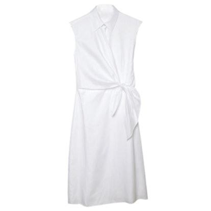 Side Knot Shirt Dress