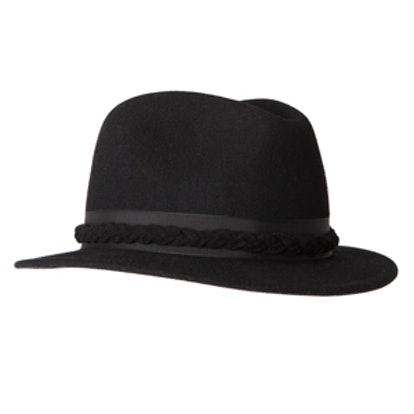 Drifter Fedora with Braided Band