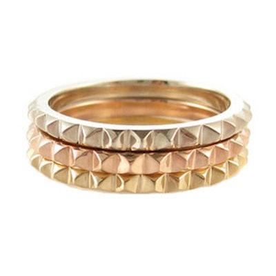 Tiny Spikes Eternity Ring