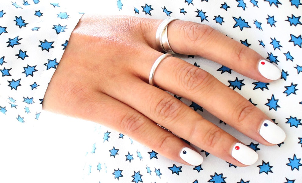 Chic Patriotic Manicures You Can Actually Do Yourself