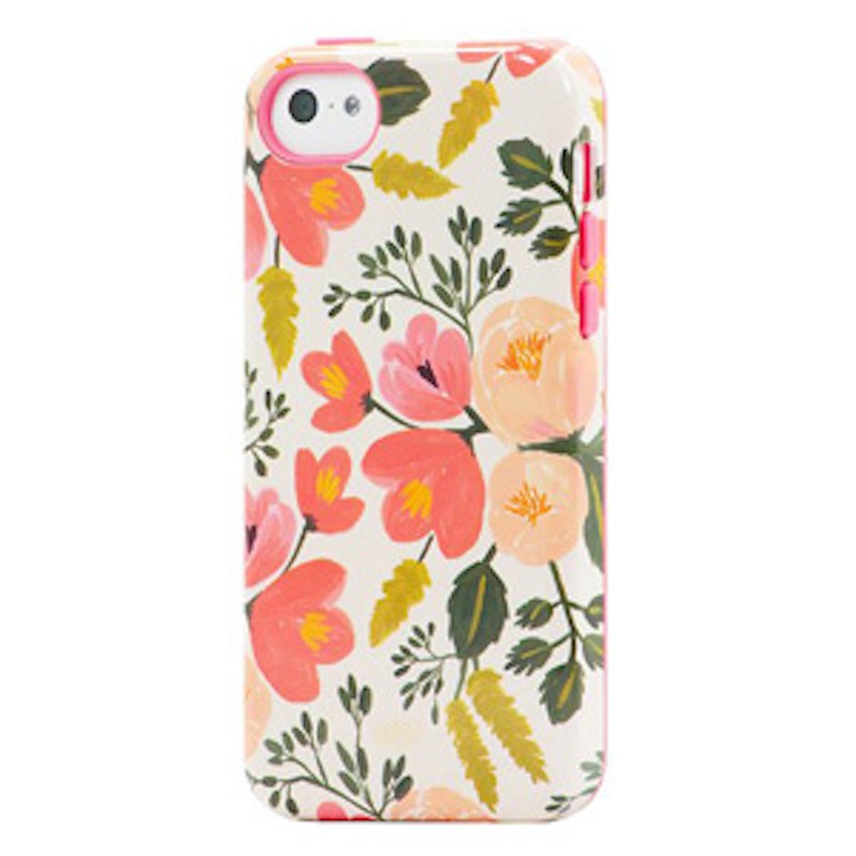Botanical Rose iPhone 5/5S Case