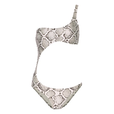 Victoria Cutout Printed Swimsuit