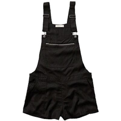 Zipper Shortalls