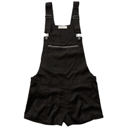 Zipper Shortalls