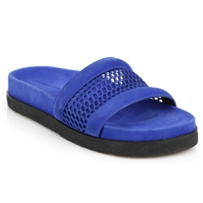 Mesh Slide Sandals