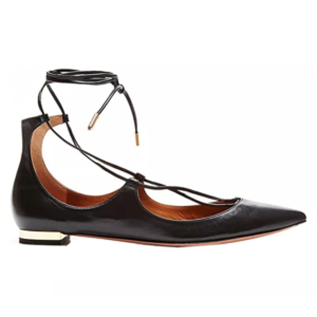 Christy Leather Pointed-Toe Flats