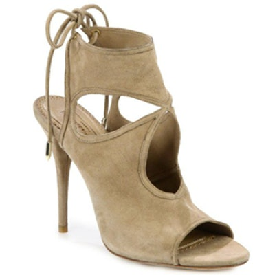 Sexy Thing Suede Cut Out Booties