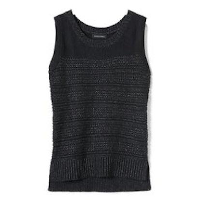 Heritage Textured Sleeveless Pullover