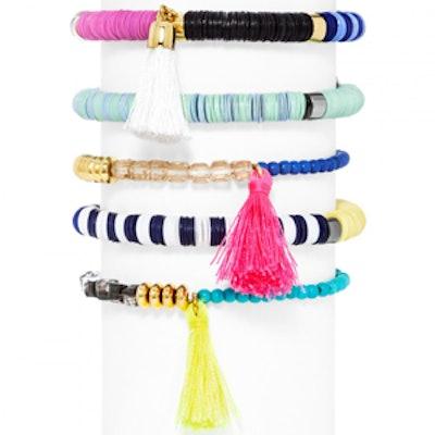 Cape Town Bracelet Set in Neon