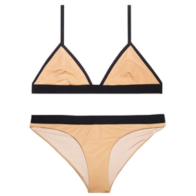 Tawny Mesh Bikini