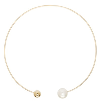 Gold & Pearl Deesse Necklace