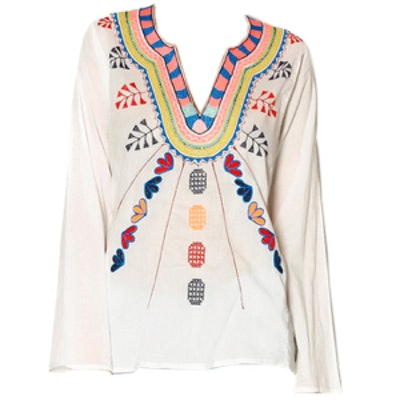 Embroidered Ethnic Top