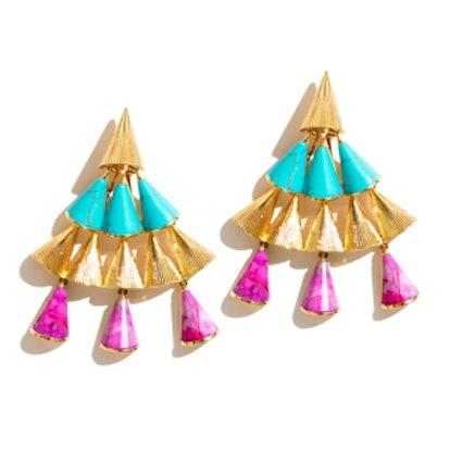 Cone Chandelier Earrings
