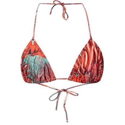 Reef Printed Triangle Bikini Top