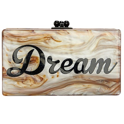 Jean Dream Marbled Clutch